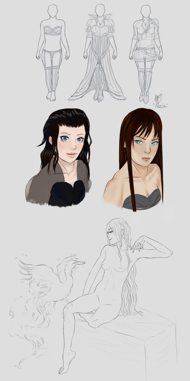 Alicea Concept by Widowmura