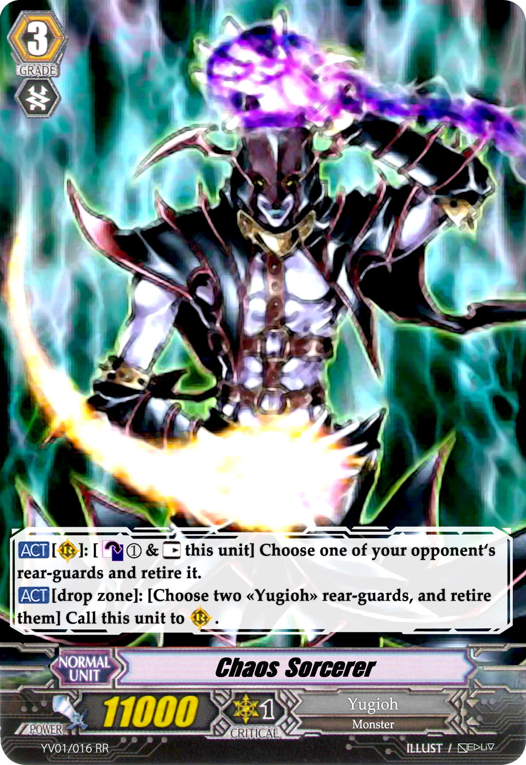 Chaos Sorcerer - Vanguard Card by Nedliv on DeviantArt