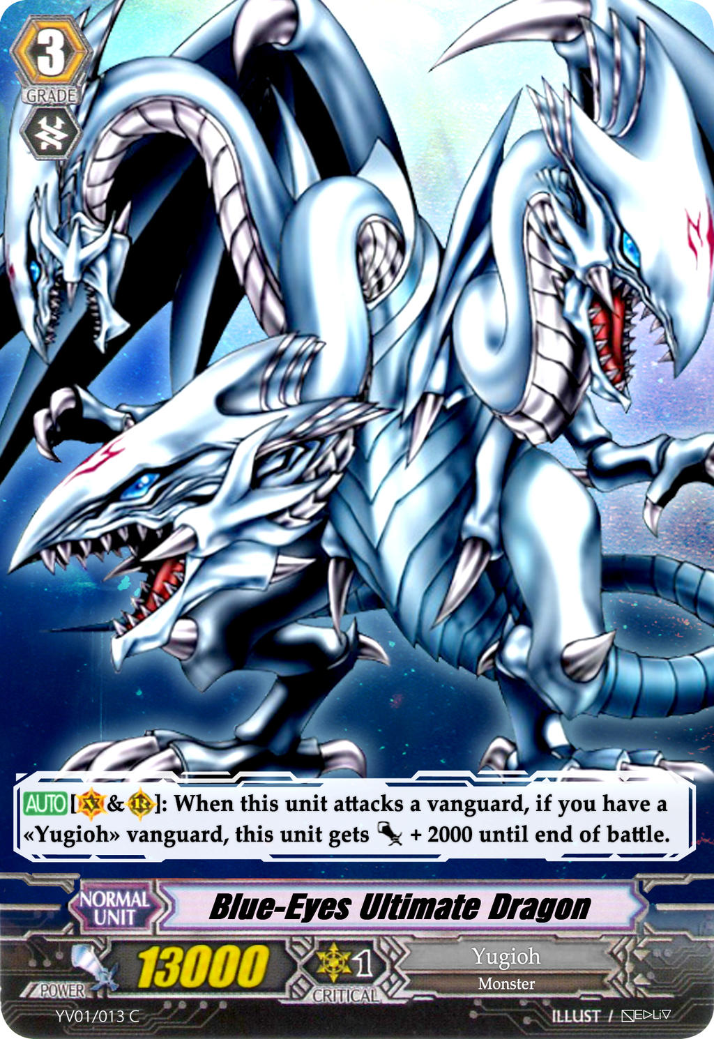 Blue-Eyes Ultimate Dragon - Vanguard Card by Nedliv on ... - photo#30