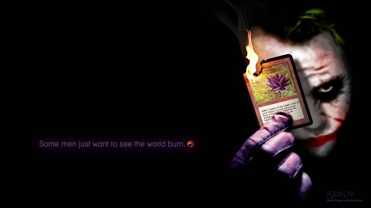Black Lotus Joker Wallpaper By Nedliv On Deviantart