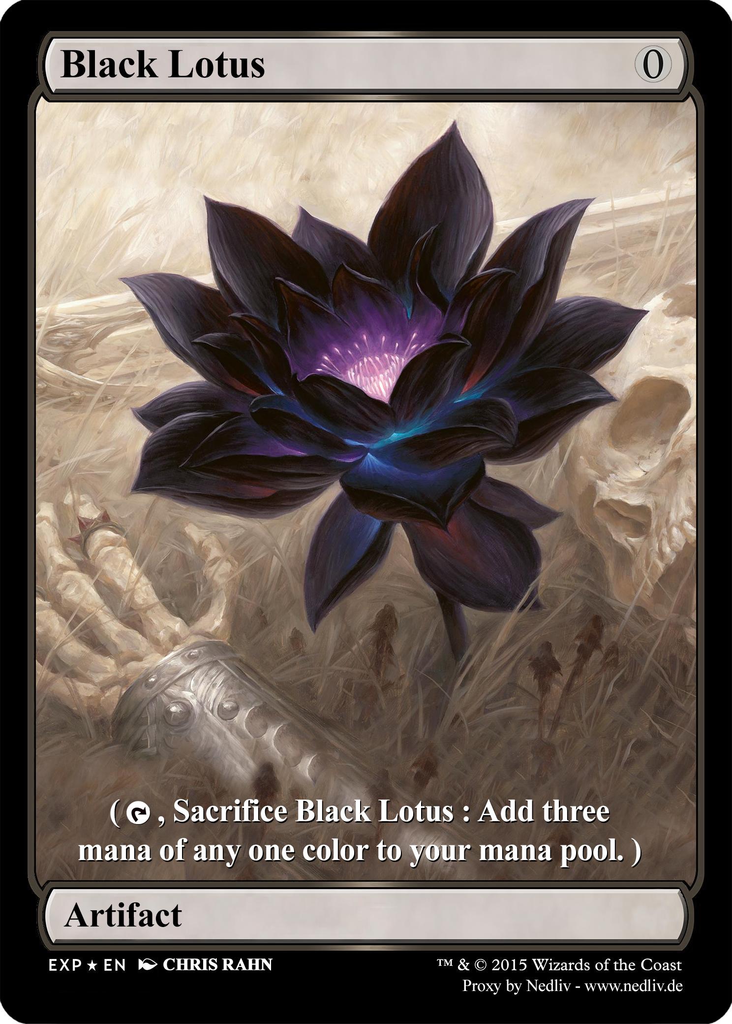mtg altered fullart proxy black lotus by nedliv on. Black Bedroom Furniture Sets. Home Design Ideas