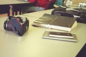 The Photographer's Desk by Vigorousjammer