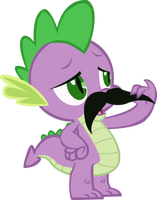 Mustache Spike Vector by Vigorousjammer