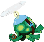 Tank: The Tortoise Helicopter Vector by Vigorousjammer