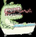 A Dragon in a Bathtub