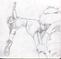 Haruko Likes to Smash Dudes in the Head With H... by Vigorousjammer