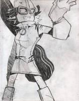 Haruko Likes to be a Manga Character Sometimes by Vigorousjammer