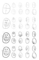 Cartoon Head Construction Test 01 by Vigorousjammer