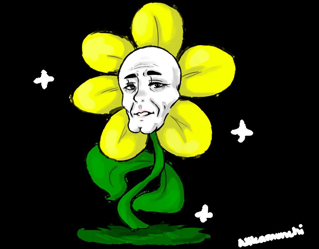 Flowey The Flower by Nikamonchi on DeviantArt
