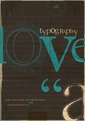 I Love Typography by Man-i