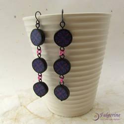 Kaleidoscope Dangle earrings