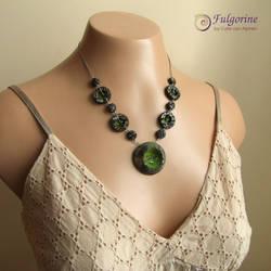 Sheepscape necklace by cvalphen