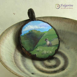 Sheep medallion by cvalphen