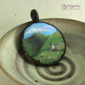 Sheep medallion