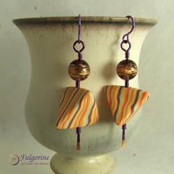 Humbug earrings by cvalphen