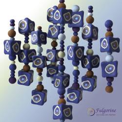 Indigo cubes by cvalphen