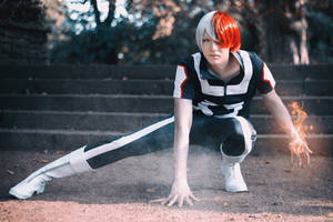 Shouto Todoroki (BNHA) - Don't blame me by Snowblind-Cosplay