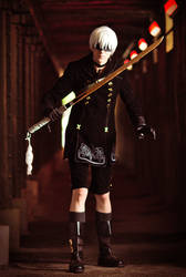 9S (NieR: Automata) - Battle will continue by Snowblind-Cosplay