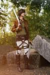 Eren (Attack on Titan) - Merciless by Snowblind-Cosplay