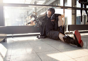 Noctis Lucis Caelum (FFXV) - King sits here