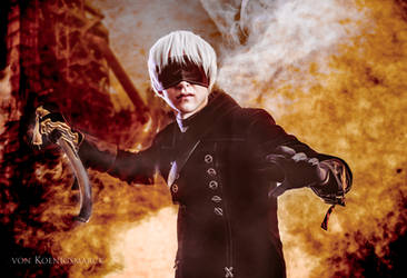 9S (NieR: Automata) - Forgiveness by Snowblind-Cosplay