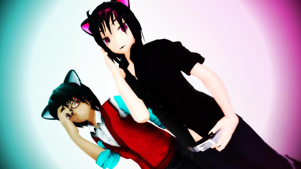 Nerd n Flirt by CM-san
