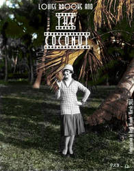 Louise Brooks and the Coconut-by Darkwoods by thedarkwoods