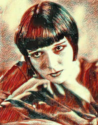 LOUISE BROOKS by thedarkwoods