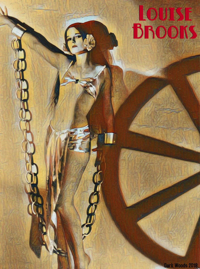 Louise Brooks, the Wheel and the Chain by thedarkwoods