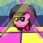 Disco kyrby-Fan art by gustavcreativity
