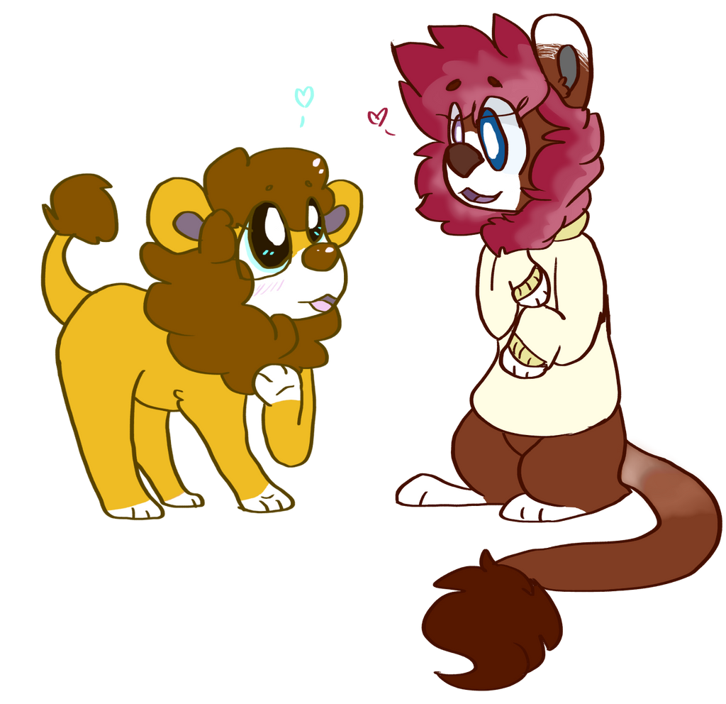 Lion Bbs by OrangeJuicee