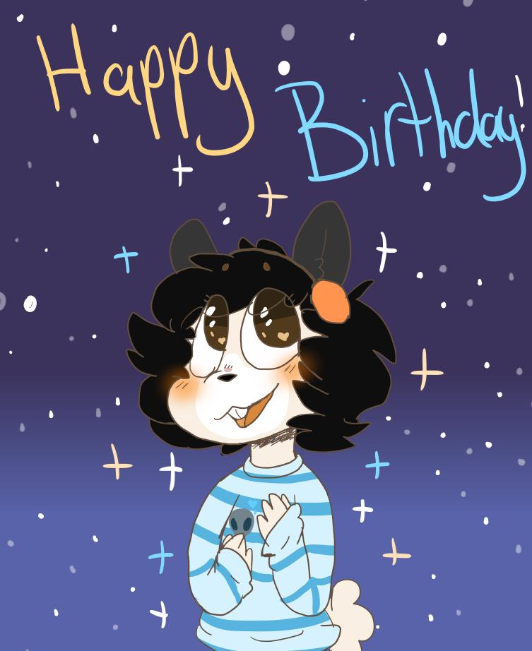 Happy Birthday You Nugget by OrangeJuicee