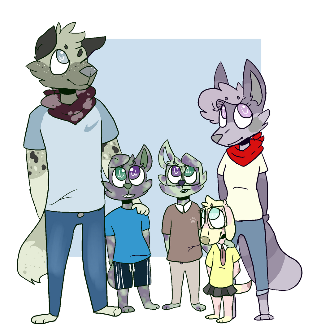 Family Photo by OrangeJuicee
