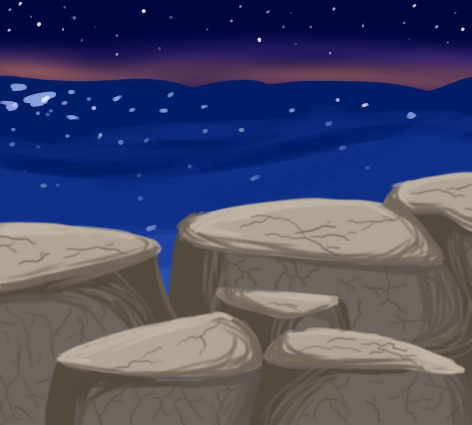 Rocks by OrangeJuicee