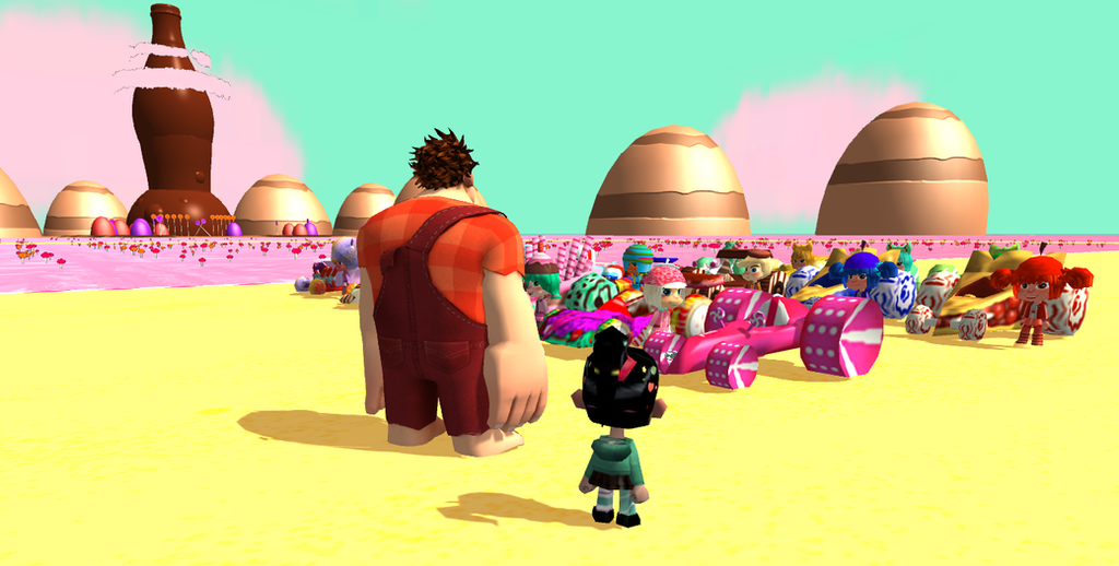 Wreck it ralph unity sugar rush racers by ofihombre on deviantart