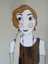 Edith Crawley by erindeverell