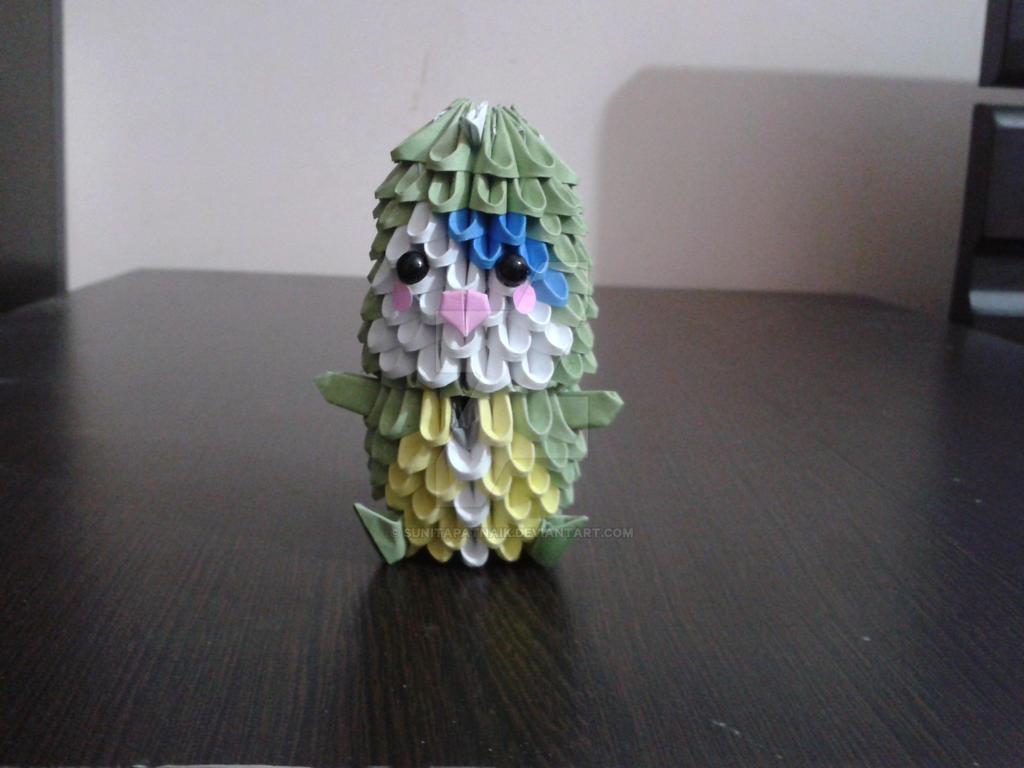 3d Origami Dinosaur Kid By SunitaPatnaik