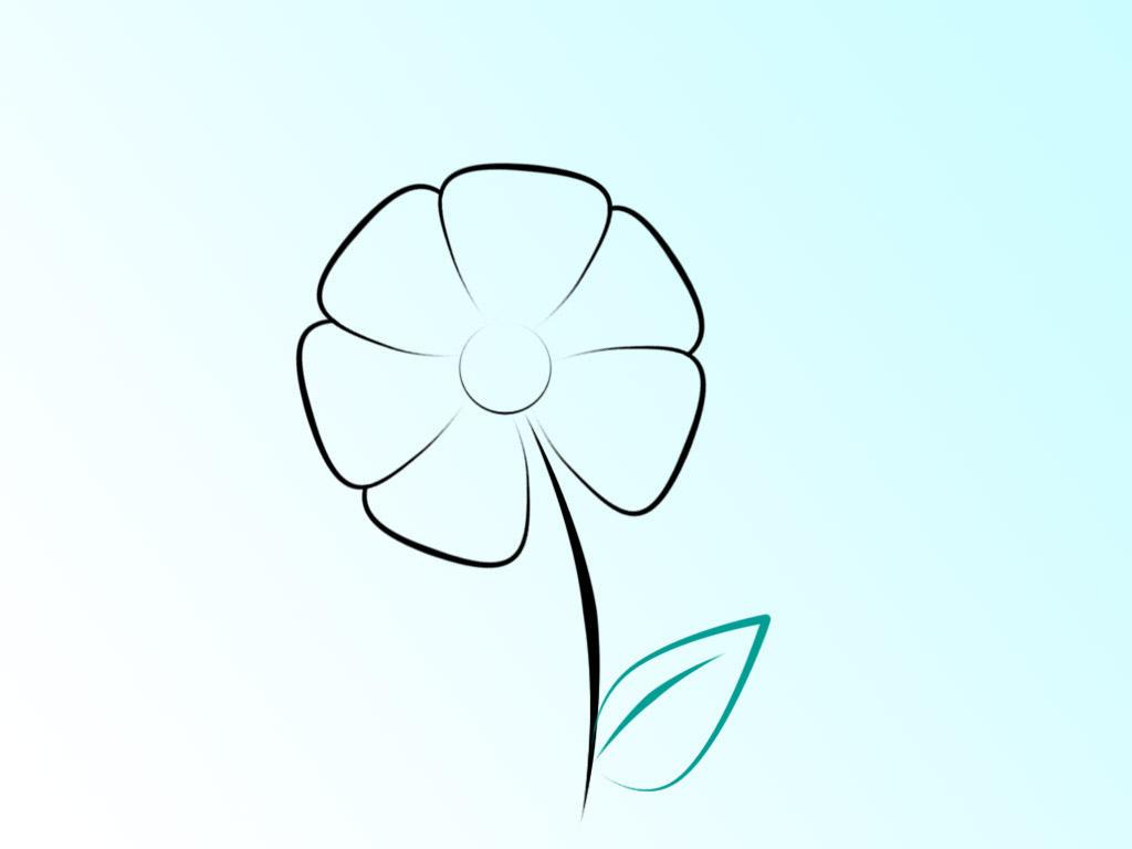 Flower Silhouette by dryk on DeviantArt