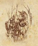 Geralt et Ablette