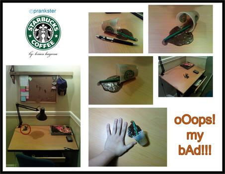 Fake Starbucks...