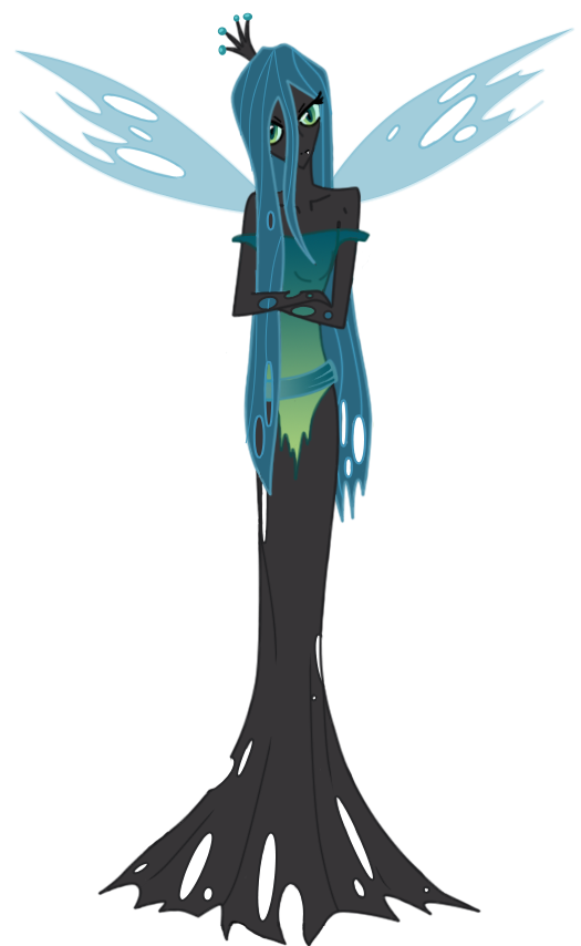 Chrysalis Human Form by Kaze-Kai