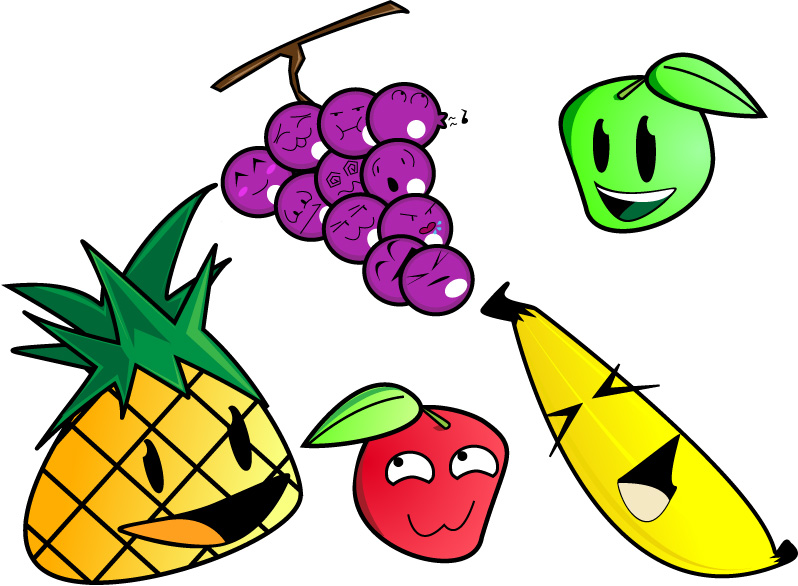 Fruits by Sagnar
