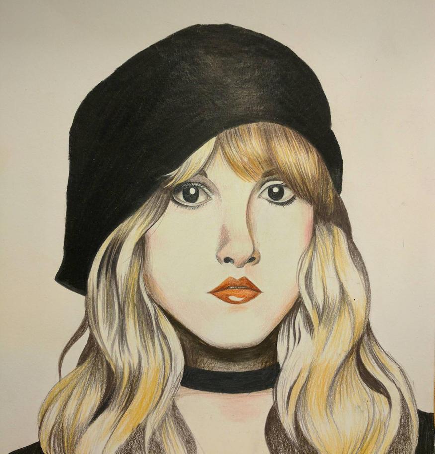 Stevie Nicks Portrait by M3ow-M1x