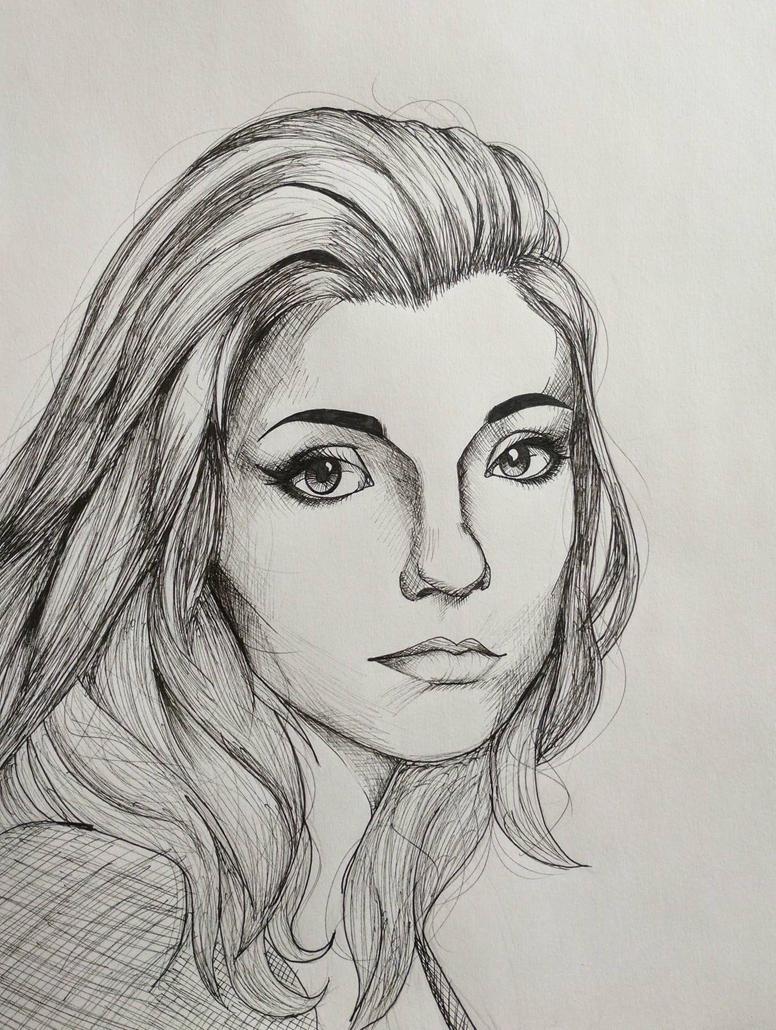 Self Portrait by M3ow-M1x
