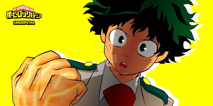 Boku No Hero Academia - Deku by Sarudi