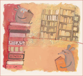 BOOK SHOP by krecha