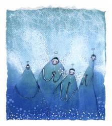 BLUE by krecha