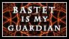Bastet Stamp by Vovina-de-Micaloz
