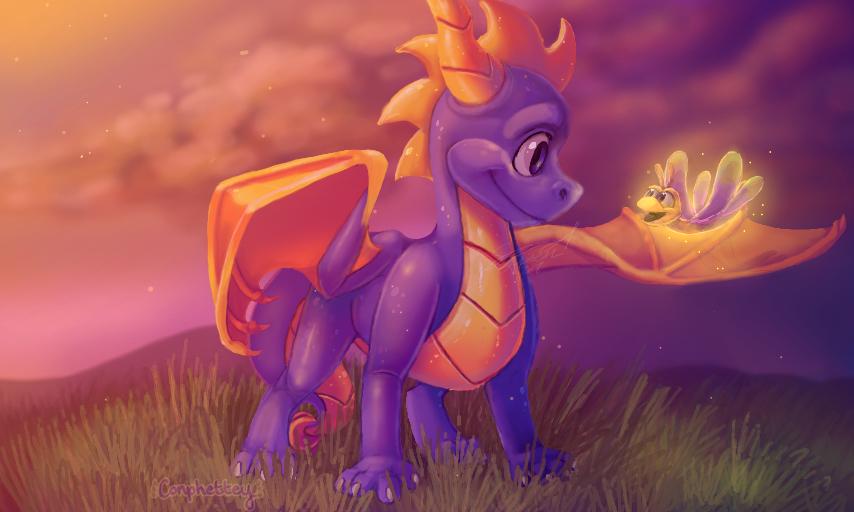spyro by Conphettey