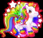 [COMMISION] spectrum burst by Conphettey